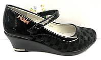 Туфли H&M для девочки на танкетке 32-37 размеры KF0374