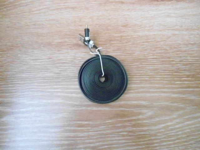 Шнур USB micro USB плоский провод переходник  3 м