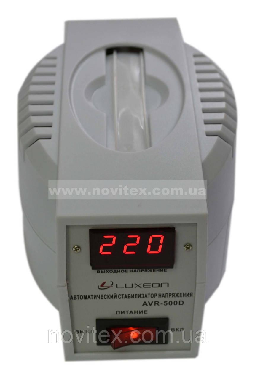Стабилизатор Luxeon AVR-500D (350Вт) белый