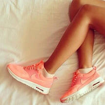 Кроссовки женские в стиле Nike Air Max Thea Pink, фото 2