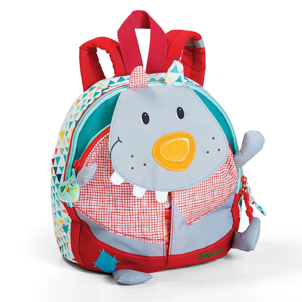 Lilliputiens - Детский рюкзак волк Николас