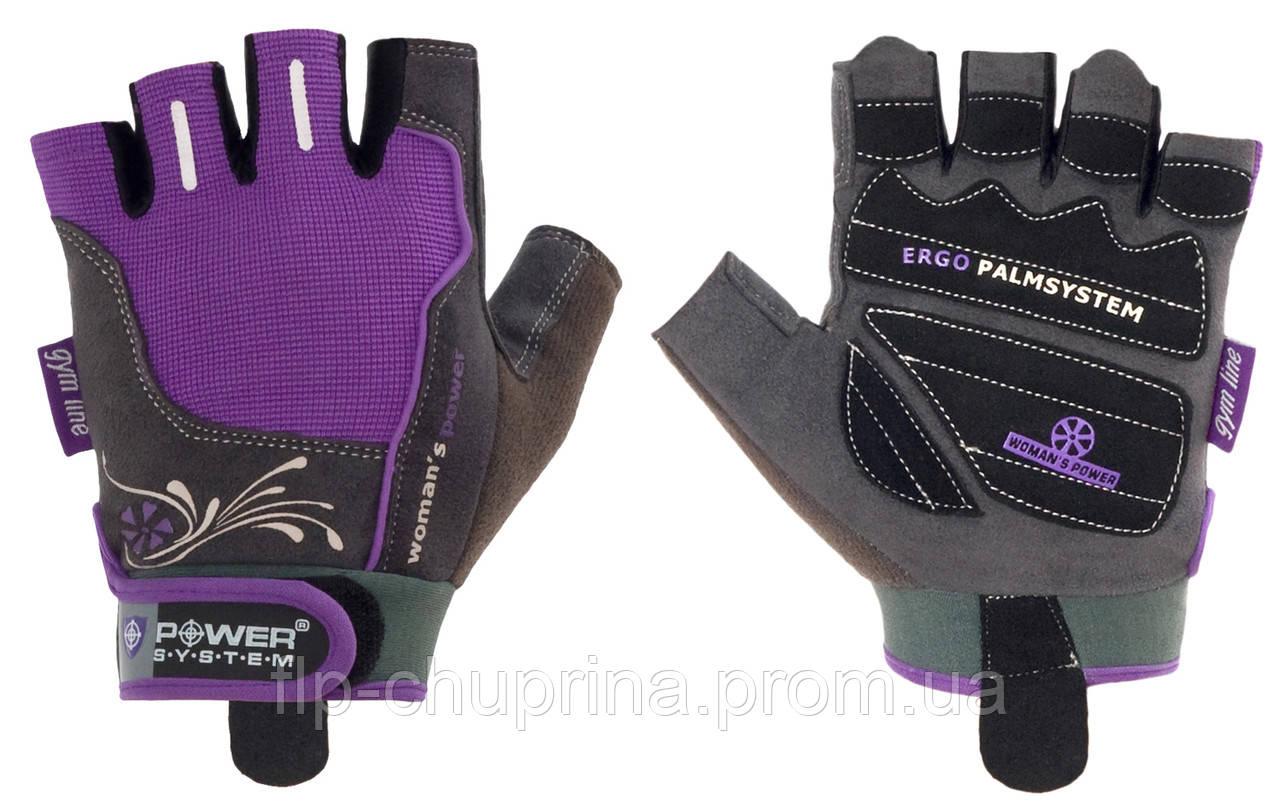 Перчатки для фитнеса Power System Women Power