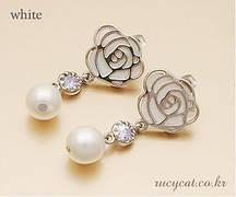 Сережки Троянда
