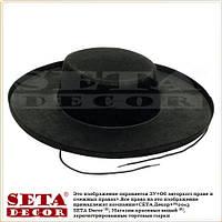 """Шляпа """"Анонимус"""" Vendetta (Вендетта), шляпа Гая Фокса, - V чёрная"""