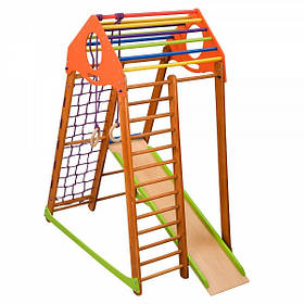 Детский спортивный комплекс для дома BambinoWood (ТМ SportBaby)