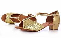 Обувь для танца (для девочек) латина р-р 31-36