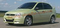 Аэродинамический обвес SSR на ВАЗ 1118 Калина