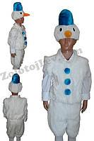 Детский костюм Снеговик рост 104, 110