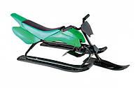 Зимние детские санки-мотоцикл