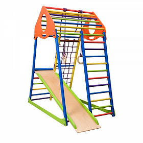 Детский спортивный комплекс для дома KindWood Colors (ТМ SportBaby)