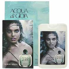 (50ml) Armani Giorgio - Acqua Di Gioia Woman (компактная парфюмерия в чехле)