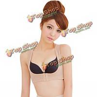 Эластичный стрейч-обратно коррекция пуш-ап собрать уход за грудью корректирующее белье