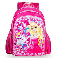 Школьный рюкзак для девочки Barbie style
