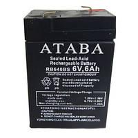 Аккумулятор батарея ATABA 6V 6Ah RB640BS