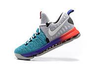 Мужские баскетбольные кроссовки Nike KD 9  (Blue/Red/Grey), фото 1