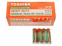 Батарейка Toshiba R06 пальчиковая AA 1.5V (Тошиба)