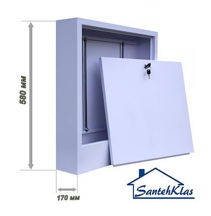 Шкаф коллекторный наружный MAXI WCBL №2, фото 2
