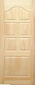 Дверное полотно модель М3 глухое сосна