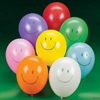 """Воздушные шарики с рисунком 10""""(26 см) 30шт."""
