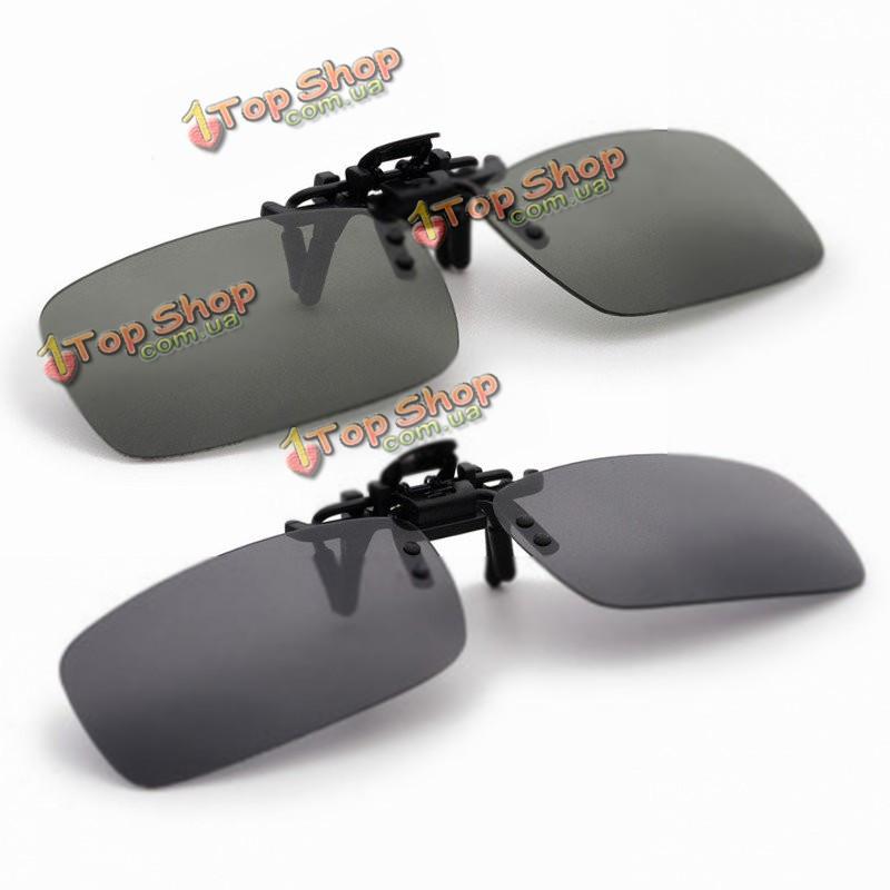 Ночного видения очки поляризованных вождения рыбалка клип на солнцезащитные очки для металлической раме - ➊TopShop ➠ Товары из Китая с бесплатной доставкой в Украину! в Киеве