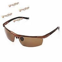 Солнцезащитные очки для защиты мужчин уф половина кадра на открытом воздухе спортивные очки вождения велосипедные очки