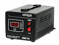 Стабилизатор напряжения 220 В, 1000 ВА EnerGenie EG-AVR-D1000-01