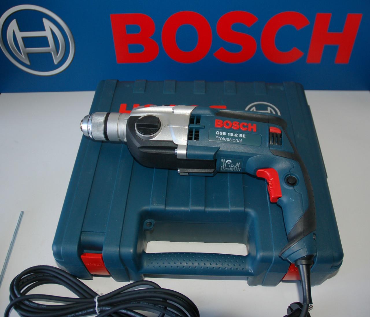 Ударная дрель Bosch GSB 19-2 RE (бзп), 060117B500