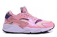 """Кроссовки Nike Huarache Floral """"Pink"""" - """"Розовые"""""""