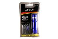 Карманный светодиодный фонарик фонарь  9 LED