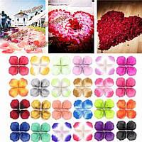 1000шт шелк выросли празднование искусственные лепестки цветка конфетти участие свадебные украшения