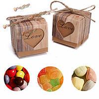 Коробочки с конфетами в подарок 50шт