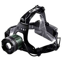 Налобный тактический фонарик POLICE BL-2189