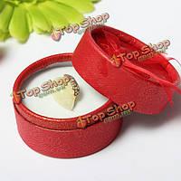 Блестящие многоцветные круглые кольца серьги свадебный подарок шкатулку, фото 1