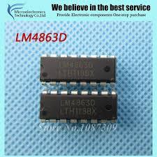 Микросхема LM4863D