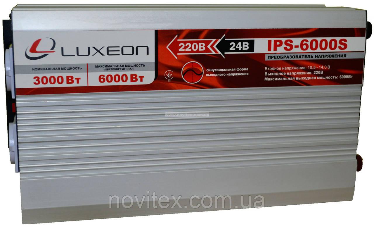 Инвертор Luxeon IPS-6000S (3000Вт)