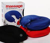 Антистрессовая подушка-подголовник массажная Neck Massage Cushion
