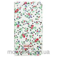 Чехол книжка Cath Kidston Diamonds для Lenovo A536 A358 зеленый
