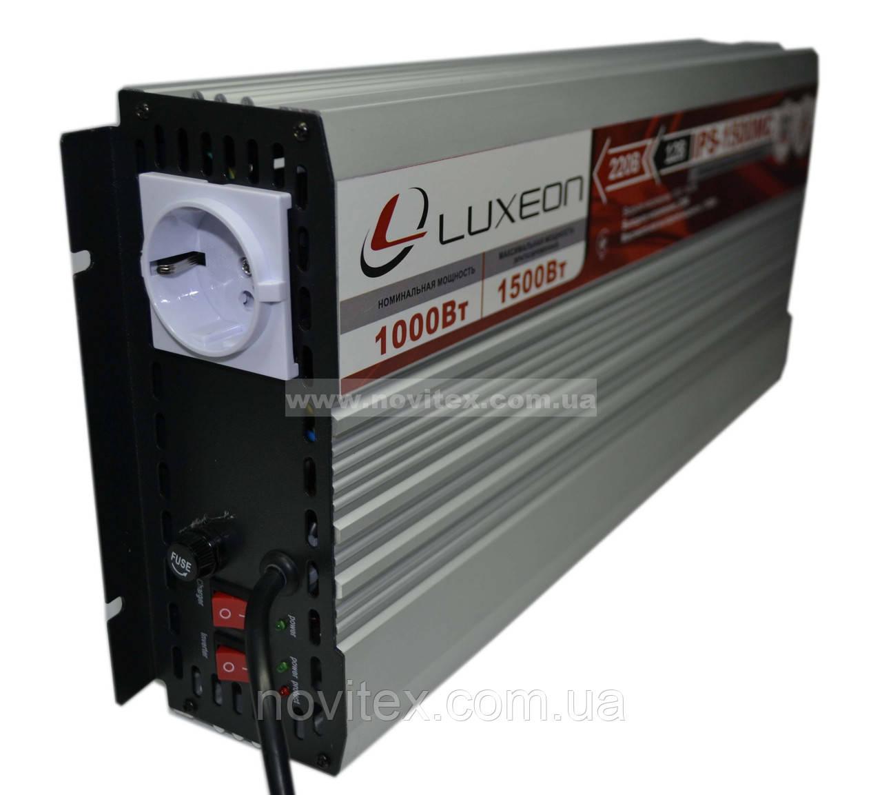 Инвертор Luxeon IPS-1500MC (1000Вт)