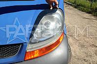 Реснички на фары Opel Vivaro Узкие