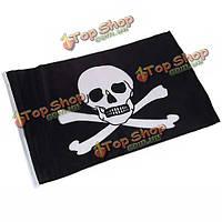 47см х 30см веселый Роджер пиратский череп флаг
