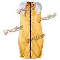 Молнии спереди сексуальный костюм банана, фото 1