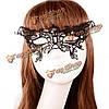 Хэллоуин патч бабочка женщин кружева черные сексуальные кристалл маскарад половины карнавальную маску украшения