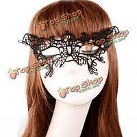 Хэллоуин патч бабочка женщин кружева черные сексуальные кристалл маскарад половины карнавальную маску украшения, фото 1
