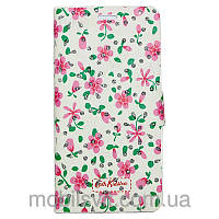 Чехол книжка Cath Kidston Diamonds для Meizu M3 Note розовый