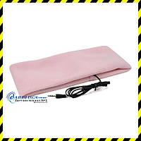Повязка на голову (для сна) со встроенным динамиком, розовый цвет.