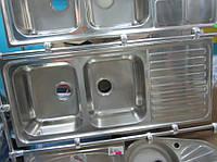 Кухонная мойка Teka Classic 2B 1D полированная (1,0мм)
