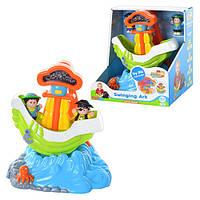 Детский развивающая Игра 3885 T «Качающийся кораблик»