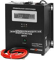 Инвертор Logicpower LPY-C-PSW-1000VA (700Вт), 12В, с MPPT, фото 1