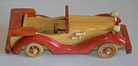 Фигурки и статуэтки деревянных авто