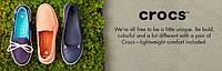 Распродажа Crocs на сайте zulily.com